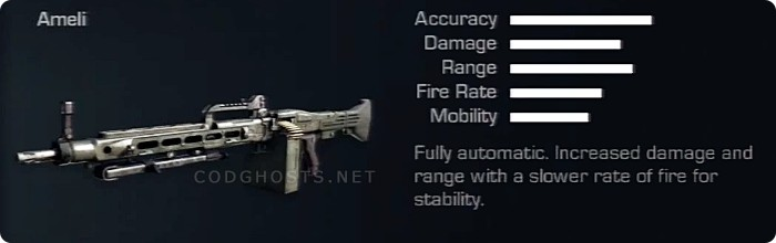 AMELI Stats And Description