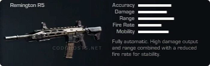 REMINGTON R5 Stats And Description