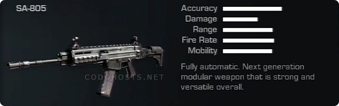 SA-805 Stats And Description
